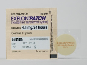 Stopping exelon patch
